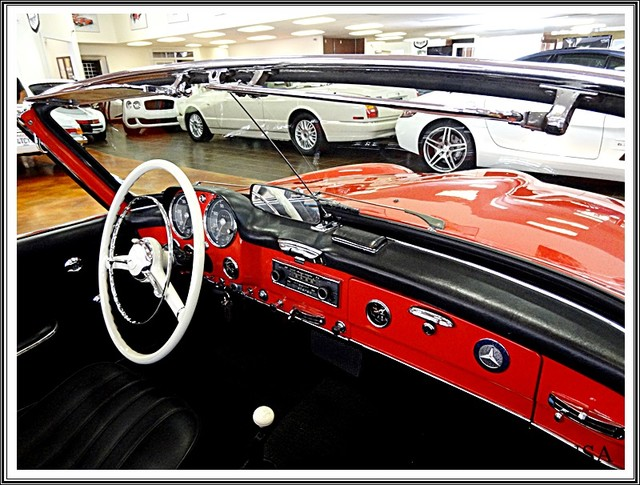 1962 Mercedes-Benz 190SL SL San Diego, California 39