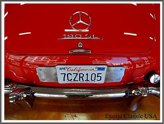 1962 Mercedes-Benz 190SL SL San Diego, California 46