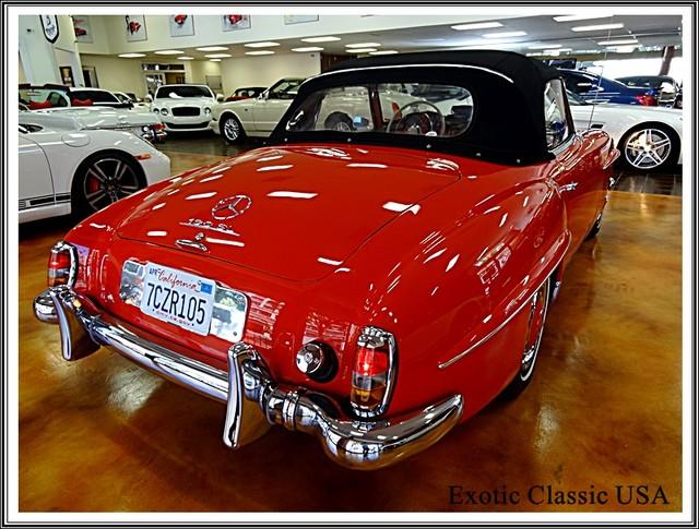 1962 Mercedes-Benz 190SL SL San Diego, California 3