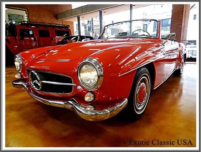1962 Mercedes-Benz 190SL SL San Diego, California 61