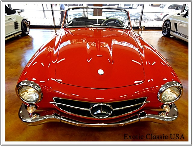 1962 Mercedes-Benz 190SL SL San Diego, California 62