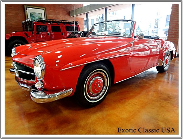 1962 Mercedes-Benz 190SL SL San Diego, California 63