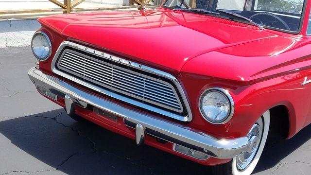 1962 Rambler AMERICAN DELUXE 6 CYL AUTOMATIC 2 DR SPORT COUPE Phoenix, Arizona 12