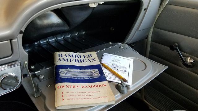 1962 Rambler AMERICAN DELUXE 6 CYL AUTOMATIC 2 DR SPORT COUPE Phoenix, Arizona 17