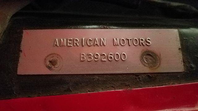 1962 Rambler AMERICAN DELUXE 6 CYL AUTOMATIC 2 DR SPORT COUPE Phoenix, Arizona 25
