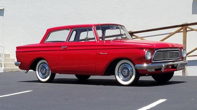 1962 Rambler AMERICAN DELUXE 6 CYL AUTOMATIC 2 DR SPORT COUPE Phoenix, Arizona 26