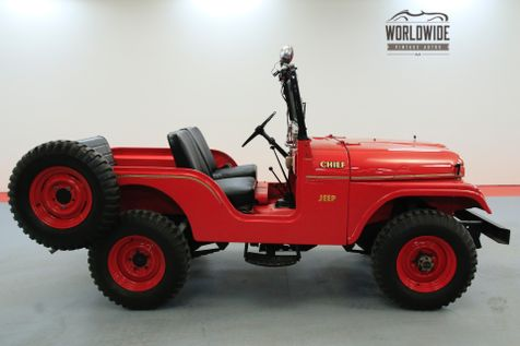 1962 Willys CJ5  FIRE CHIEF RARE COLLECTABLE | Denver, CO | Worldwide Vintage Autos in Denver, CO