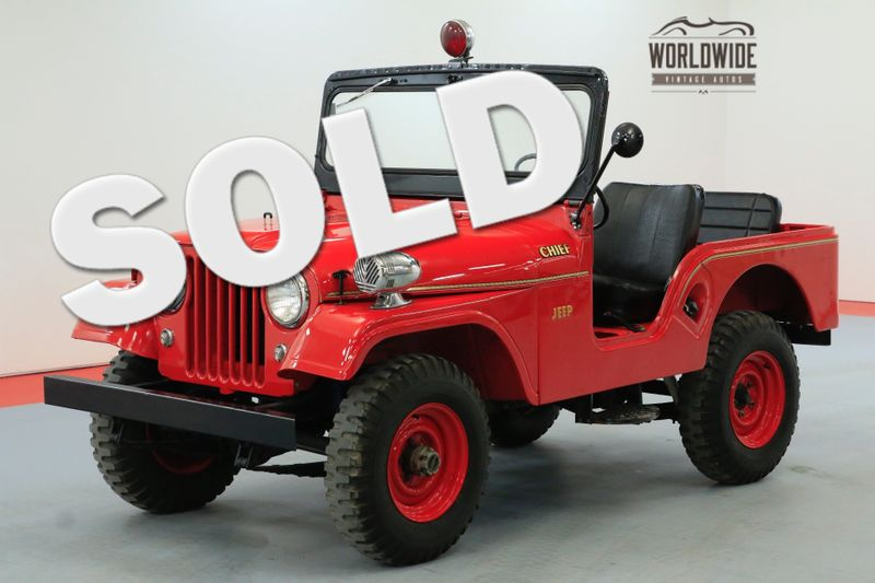 1962 Willys CJ5  FIRE CHIEF RARE COLLECTABLE | Denver, CO | Worldwide Vintage Autos
