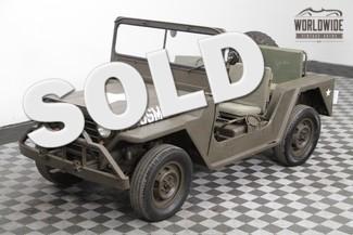 1962 Willys M151 Mutt Jeep
