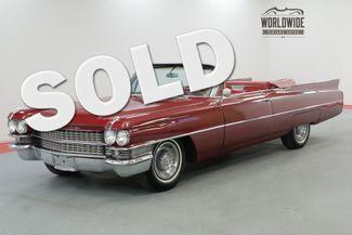 1963 Cadillac CONVERTIBLE in Denver CO