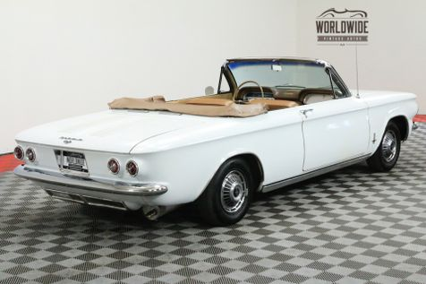 1963 Chevrolet CORVAIR MONZA 900 CONVERTIBLE RESTORED 4 SPEED | Denver, CO | Worldwide Vintage Autos in Denver, CO