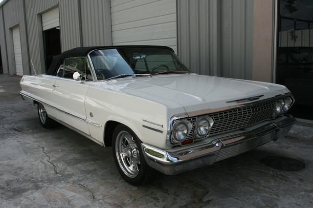 1963 Chevrolet Impala SS 409 Conv Houston, Texas 0