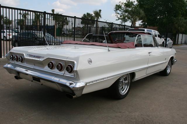 1963 Chevrolet Impala SS 409 Conv Houston, Texas 11