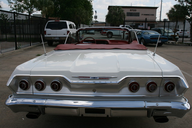1963 Chevrolet Impala SS 409 Conv Houston, Texas 17