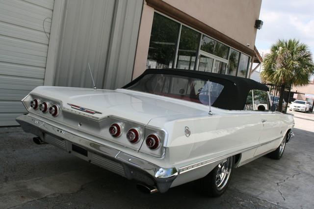 1963 Chevrolet Impala SS 409 Conv Houston, Texas 3