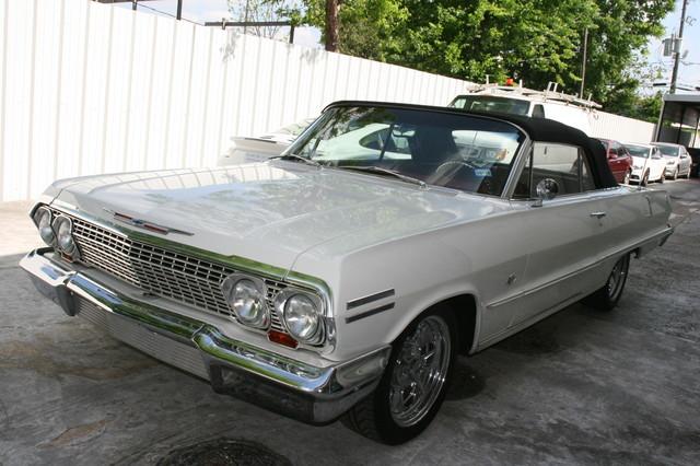 1963 Chevrolet Impala SS 409 Conv Houston, Texas 9