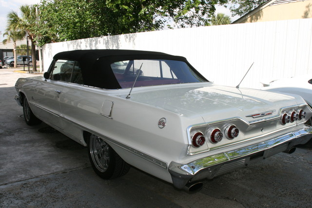 1963 Chevrolet Impala SS 409 Conv Houston, Texas 4
