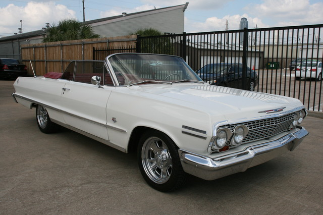 1963 Chevrolet Impala SS 409 Conv Houston, Texas 5
