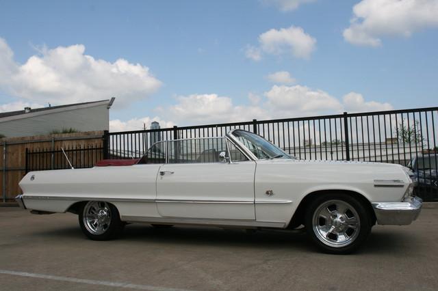 1963 Chevrolet Impala SS 409 Conv Houston, Texas 6
