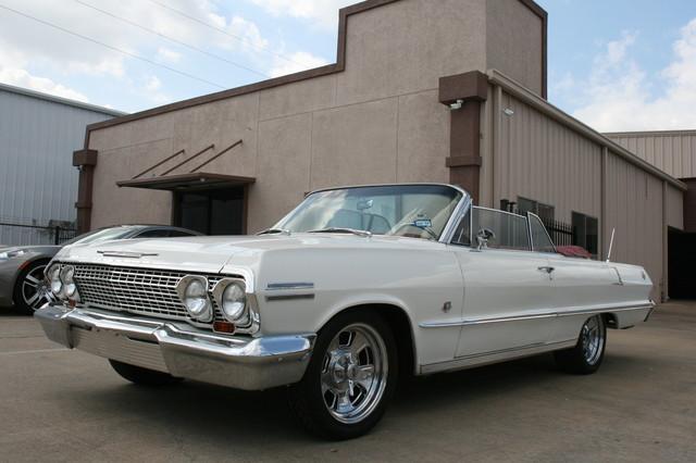 1963 Chevrolet Impala SS 409 Conv Houston, Texas 7