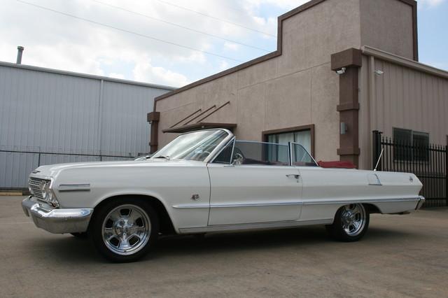 1963 Chevrolet Impala SS 409 Conv Houston, Texas 8