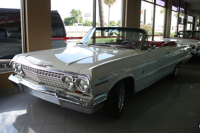 1963 Chevrolet Impala SS 409 Conv Houston, Texas 30