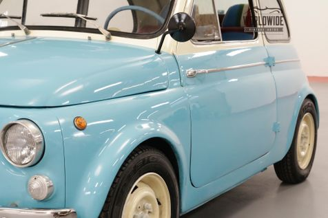 1963 Fiat 500 RARE ITALIAN FUN SUICIDE DOORS RED RAG TOP | Denver, CO | Worldwide Vintage Autos in Denver, CO