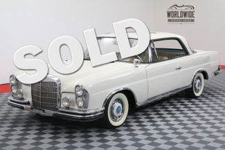 1963 Mercedes-Benz 220SE RESTORED VERY RARE 4-SPEED MANUAL SUNROOF | Denver, Colorado | Worldwide Vintage Autos in Denver Colorado