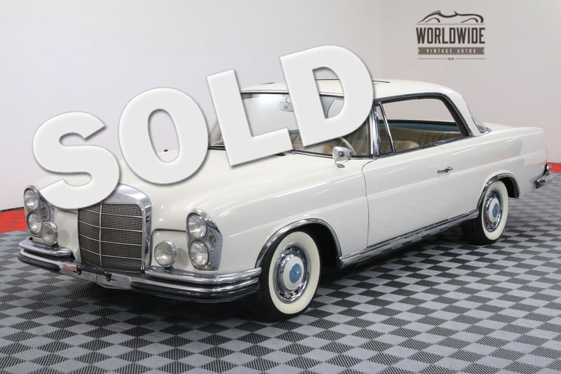 1963 Mercedes-Benz 220SE RESTORED VERY RARE. SUNROOF. | Denver, CO | Worldwide Vintage Autos