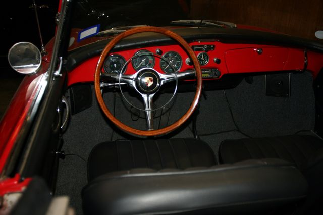 1963 Porsche 356 Convt Houston, Texas 6