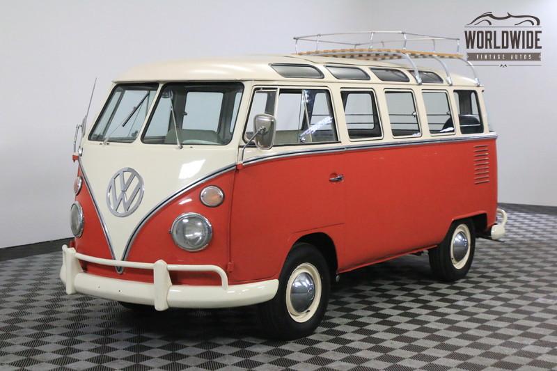 1963 Volkswagen 23 WINDOW MICROBUS RARE WALK THOUGH. 23 WINDOW! FULLY RESTORED