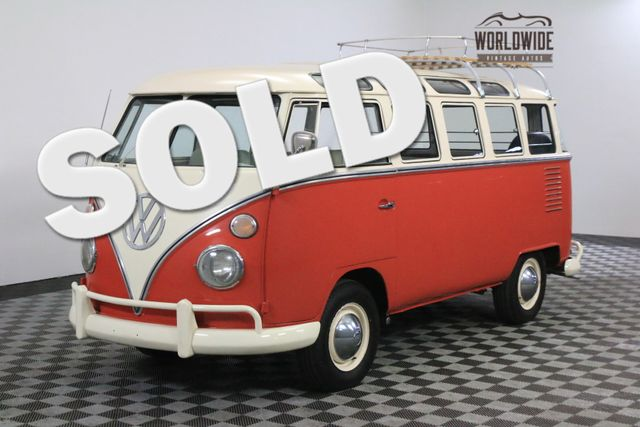 1963 Volkswagen 23 WINDOW MICROBUS RARE WALK THOUGH. 23 WINDOW! FULLY RESTORED | Denver, Colorado | Worldwide Vintage Autos