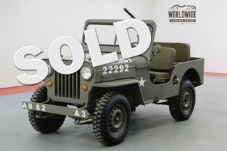 1963 Willys CJ3B in Denver CO