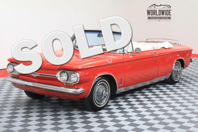 1964 Chevrolet CORVAIR MONZA SPYDER TURBO CONVERTIBLE | Denver, Colorado | Worldwide Vintage Autos