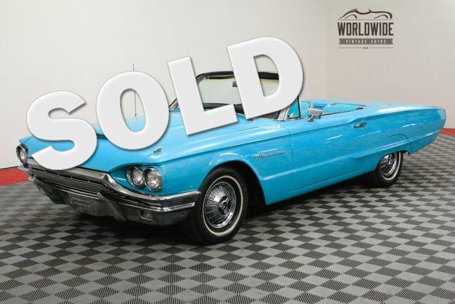 1964 Ford THUNDERBIRD CONVERTIBLE. RARE. RESTORED. | Denver, CO | WORLDWIDE VINTAGE AUTOS