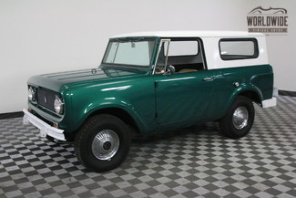 1964 International SCOUT RARE OVERDRIVE. 4X4. CONVERTIBLE in Denver, Colorado