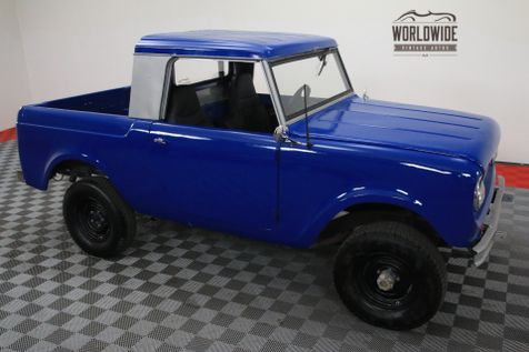 1964 International SCOUT FRAME OFF RESTO 4X4 HALF CAB REBUILT MOTOR | Denver, Colorado | Worldwide Vintage Autos in Denver, Colorado