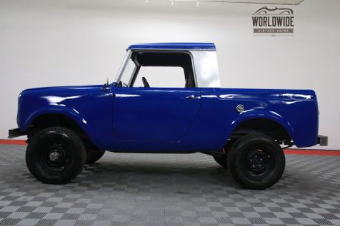 1964 International SCOUT FRAME OFF RESTO 4X4 HALF CAB REBUILT MOTOR | Denver, CO | WORLDWIDE VINTAGE AUTOS in Denver, CO