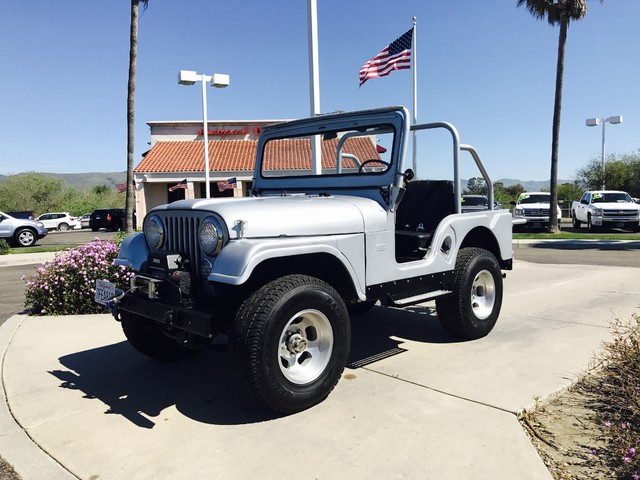 1964 Jeep CJ5 Great gas mileage and acceleration are features youll enjoy driving this V6Go anyw