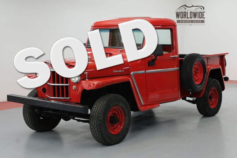 1964 Jeep WILLYS EXTENSIVE NUT AND BOLT FRAME OFF RESTORATION | Denver, CO | Worldwide Vintage Autos