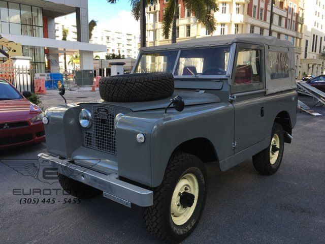 1964 Land Rover SERIES II A DEFENDER | Miami, FL | Eurotoys in Miami FL