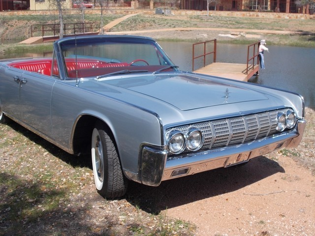 1964 lincoln continental 4 dr convertible beaumont tx silver 1964 lincoln continental. Black Bedroom Furniture Sets. Home Design Ideas