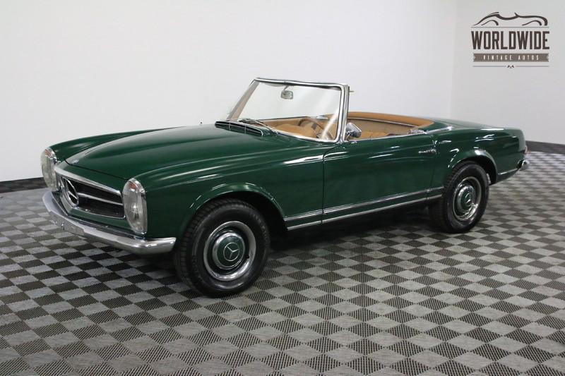 1964 Mercedes-Benz 230SL RESTORED MOSS GREEN NEW INTERIOR