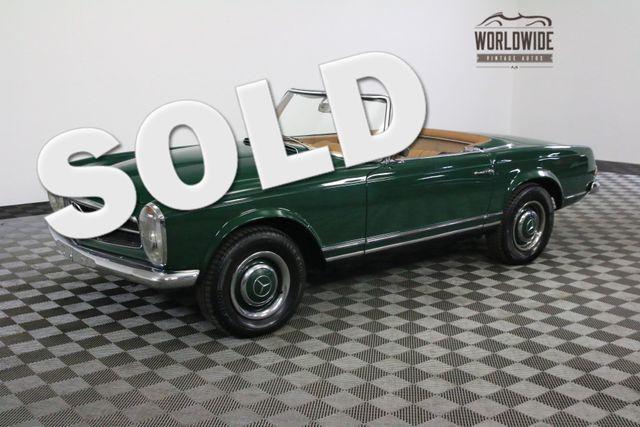1964 Mercedes-Benz 230SL RESTORED MOSS GREEN NEW INTERIOR   Denver, Colorado   Worldwide Vintage Autos