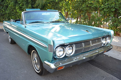 1964 Mercury Comet Caliente Convertible, California Car in , California