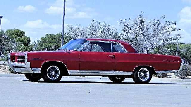 1964 Pontiac BONNEVILLE W/BUILD SHEET 2 DOOR SPORT COUPE A/C, 51,000 ORIG MILES Phoenix, Arizona 0