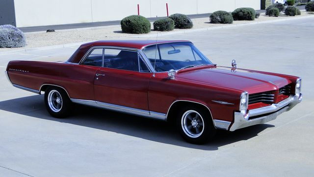 1964 Pontiac BONNEVILLE W/BUILD SHEET 2 DOOR SPORT COUPE A/C, 51,000 ORIG MILES Phoenix, Arizona 8