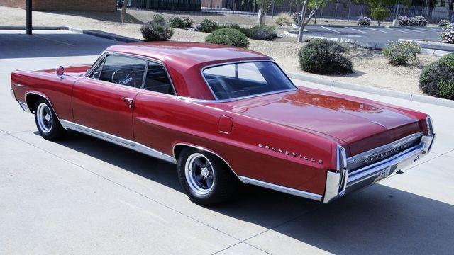 1964 Pontiac BONNEVILLE W/BUILD SHEET 2 DOOR SPORT COUPE A/C, 51,000 ORIG MILES Phoenix, Arizona 6