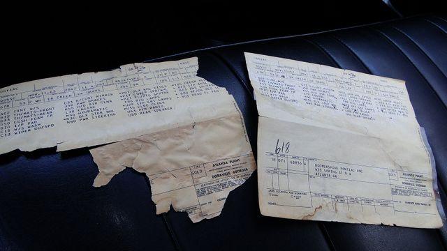 1964 Pontiac BONNEVILLE W/BUILD SHEET 2 DOOR SPORT COUPE A/C, 51,000 ORIG MILES Phoenix, Arizona 4