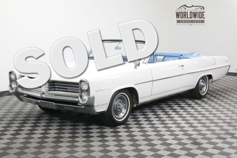1964 Pontiac CATALINA CONVERTIBLE! TWO OWNER! 389 V8 AUTO | Denver, CO | Worldwide Vintage Autos